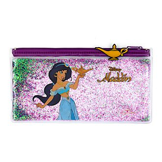 Disney Store Princess Jasmine Glitter Fill Pencil Case