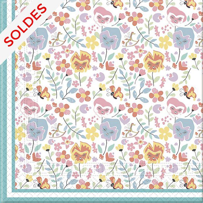 Disney Store 20serviettes en papier Alice au Pays des Merveilles