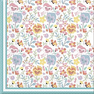 Disney Store Alice nel Paese delle Meraviglie, 20 tovaglioli di carta