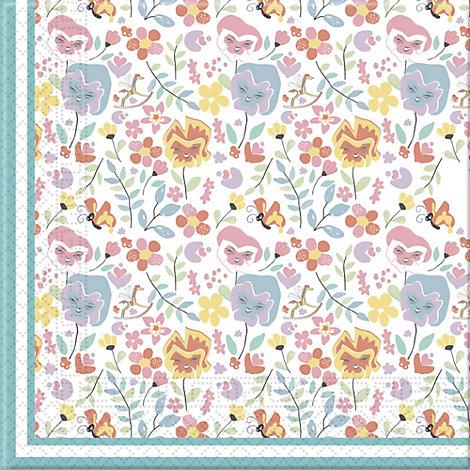 20serviettes en papier Alice au Pays des Merveilles