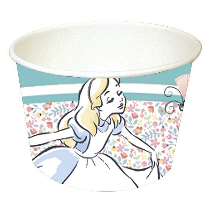 Disney Store – Alice im Wunderland – 8 x Pappschälchen