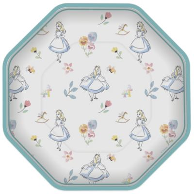 Alice in Wonderland x8 Party Plates