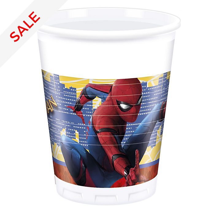 Spider-Man Homecoming 8x Party Cups