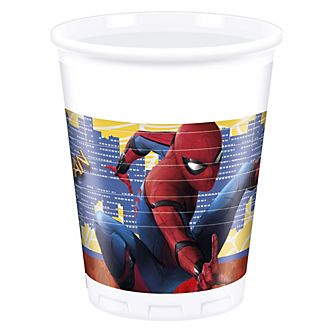 Set 8 vasos fiesta, Spider-Man: Homecoming
