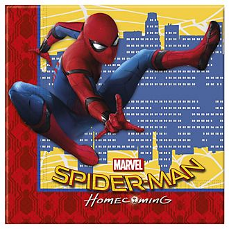 Lot de 20 serviettes de fête Spider-Man: Homecoming