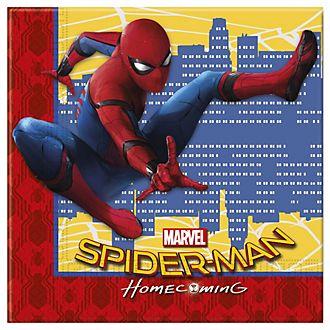 Lot de 20serviettes de fête Spider-Man: Homecoming