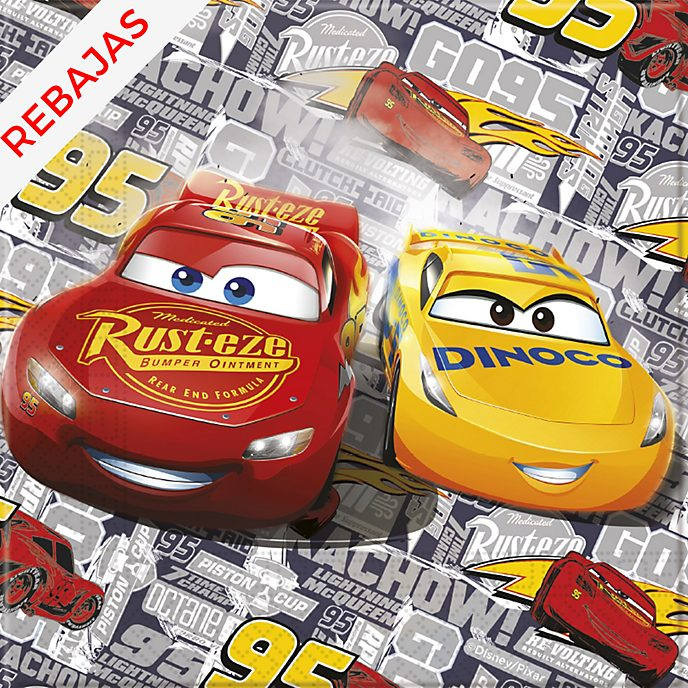 Set de 20 servilletas de fiesta de Disney Pixar Cars3