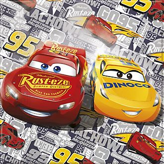 Paquet de 20serviettes de fête Disney Pixar Cars3