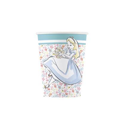 Alice nel Paese delle Meraviglie, 8 bicchieri di carta