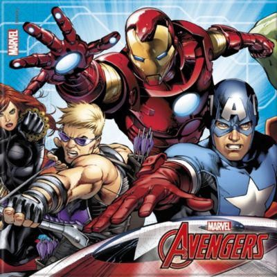 Marvel Avengers x20 Party Napkins
