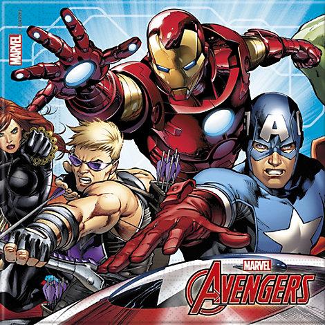Lot de 20serviettes en papier Marvel Avengers