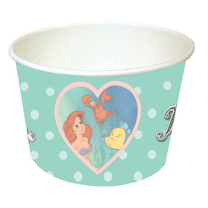 Disney Store The Little Mermaid 8x Treat Tubs