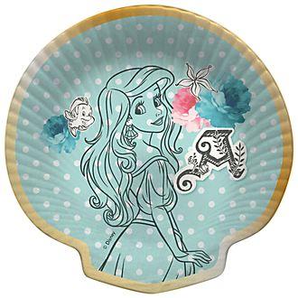 Disney Store Lot de 8assiettes de fête La Petite Sirène