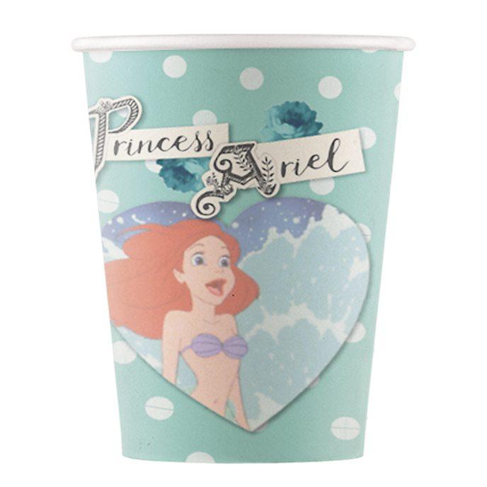 Set 8 vasos fiesta, La Sirenita, Disney Store