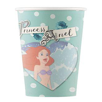 Disney Store Lot de 8gobelets de fête La Petite Sirène