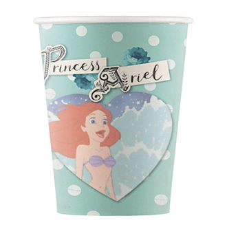 Disney Store The Little Mermaid 8x Party Cups