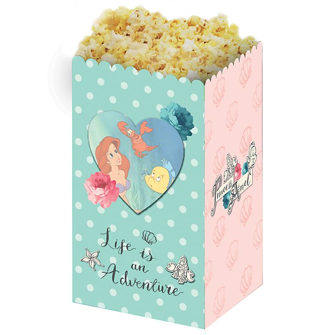 Disney Store Lot de 4seaux à pop-corn La Petite Sirène