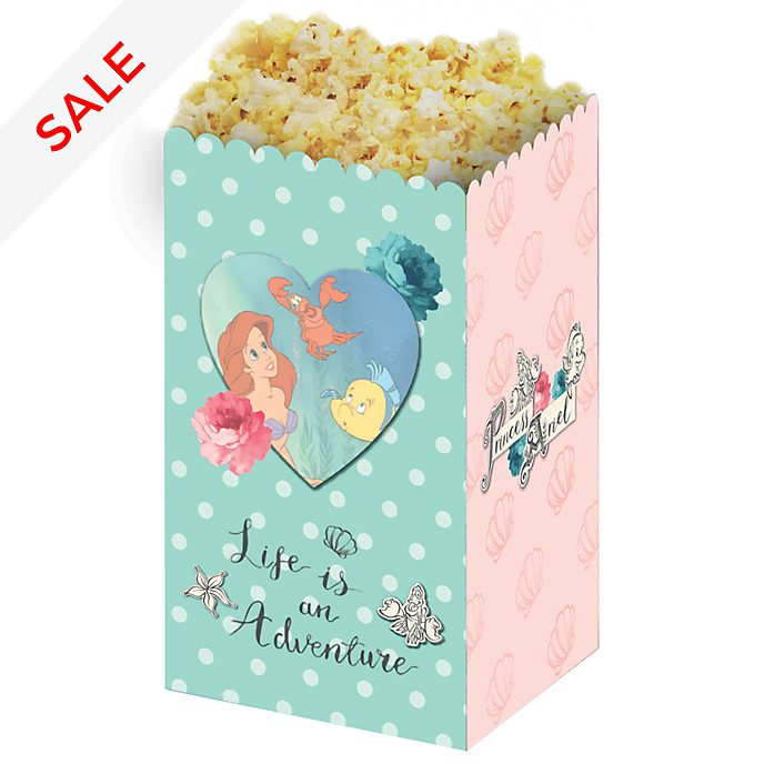 Disney Store The Little Mermaid 4x Popcorn Bucket