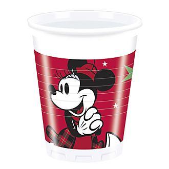 Regala la Magia, 8 bicchieri di plastica natalizi
