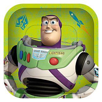 Disney Store – Toy Story – Die Toys sind los! – 8 x Partyteller