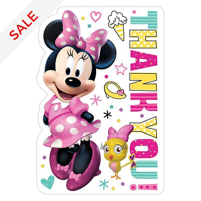 Disney Store - Minnie Maus - 8 Dankeskarten