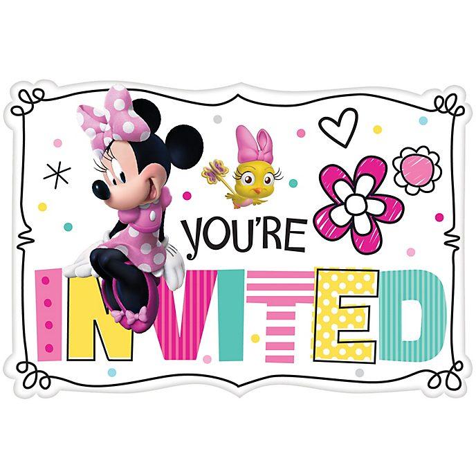 Disney Store Lot de 8invitations Minnie Mouse