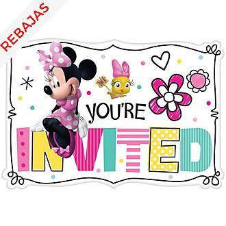 Set invitaciones para fiesta Minnie, Disney Store (8u.)