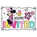 8 inviti per festa Minni e amici Disney Store