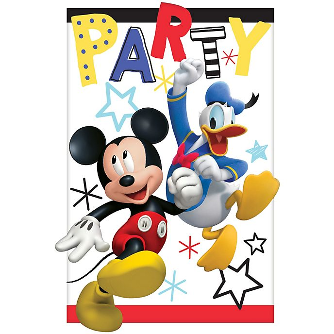Disney Store Lot de 8 invitations Mickey et ses amis