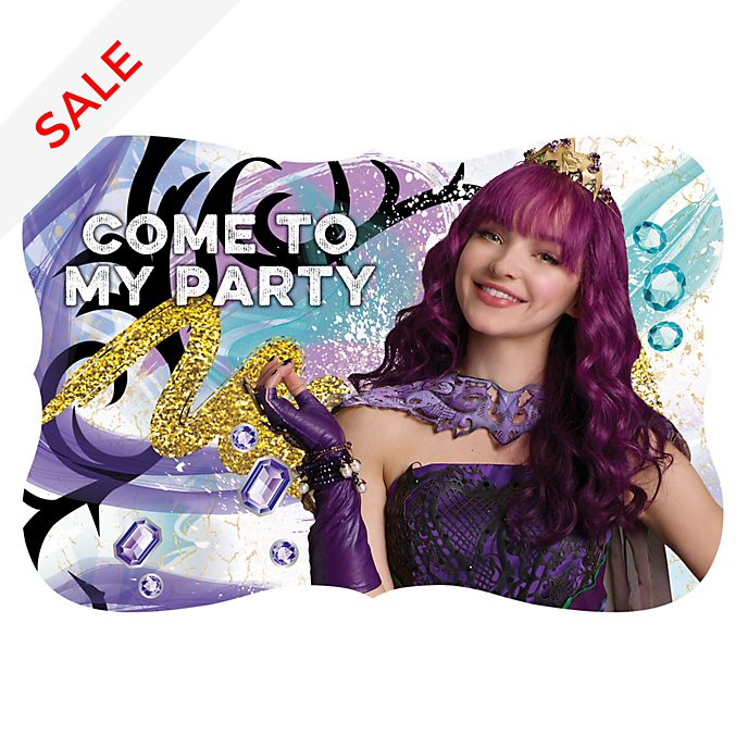 Disney Store Descendants 2 x8 Party Invites