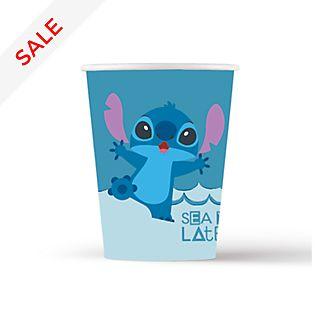 Disney Store – Stitch und Angel – 8 x Partybecher