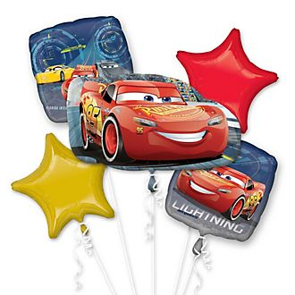 Disney Store Lightning McQueen Balloon Bouquet
