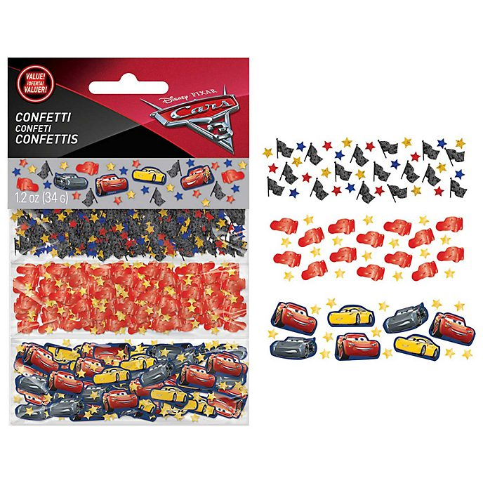 Disney Store Confettis Disney Pixar Cars3