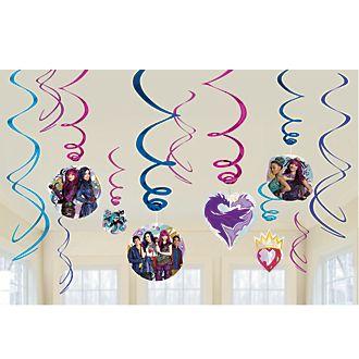 Disney Store Disney Descendants 2, decorazioni a spirale per festa