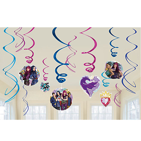 Disney Descendants 2, decorazioni a spirale