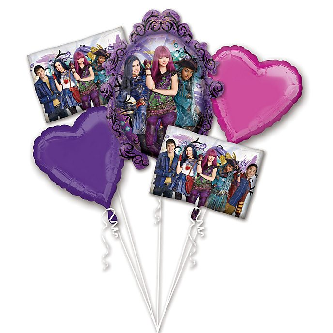 Disney Store Disney Descendants 2 Balloon Bouquet