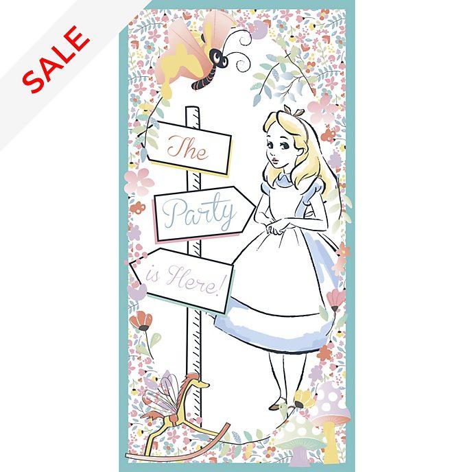 Disney Store Alice in Wonderland Door Banner