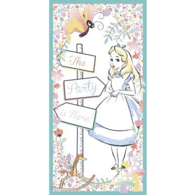 Panneau de porte Alice au Pays des Merveilles