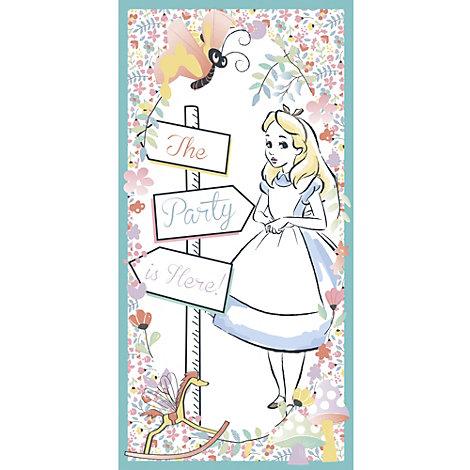 Cartellone da appendere alla porta Alice nel Paese delle Meraviglie