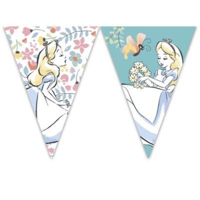 Alice in Wonderland Flag Banner