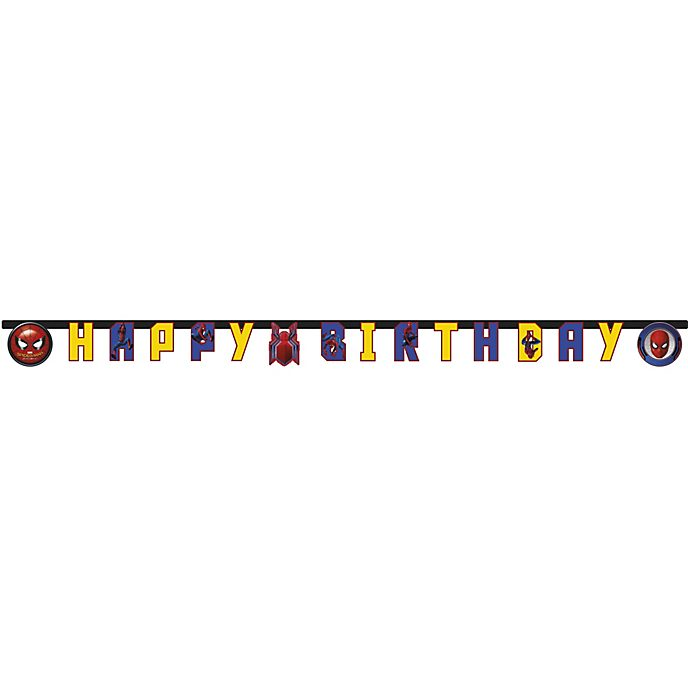 Spider-Man Homecoming Birthday Banner