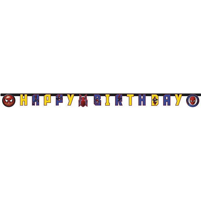 Cartel feliz cumpleaños Spider-Man: Homecoming