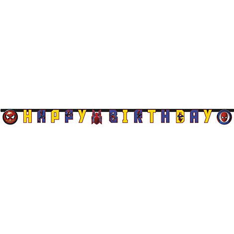 Spider-Man Homecoming Birthday Banner
