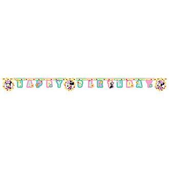 Disney Store Minni, festone Happy Birthday