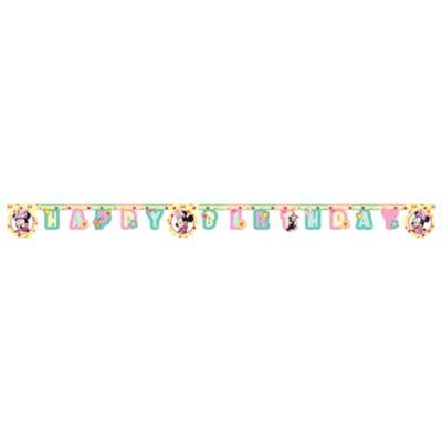 Guirlande d'anniversaire Minnie Mouse