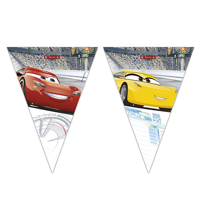Cartel de banderines de Disney Pixar Cars 3