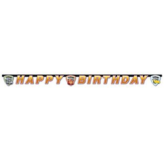Disney Pixar Cars 3 Birthday Banner