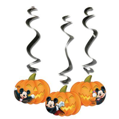 Mickey Mouse halloween-udsmykning med guirlander