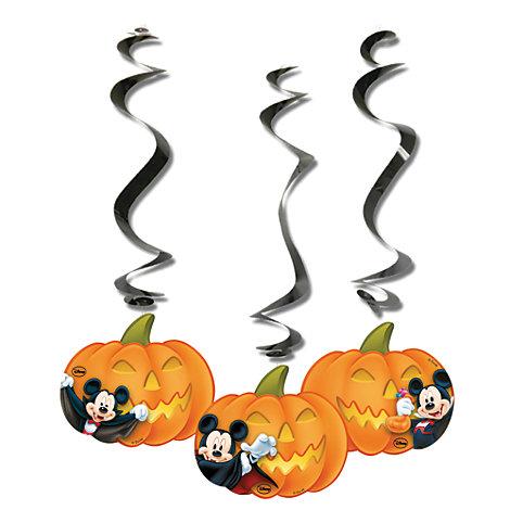 Decorazioni a spirale di Halloween Topolino