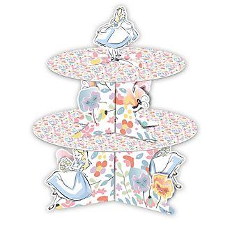 Disney Store Alice in Wonderland Cake Stand